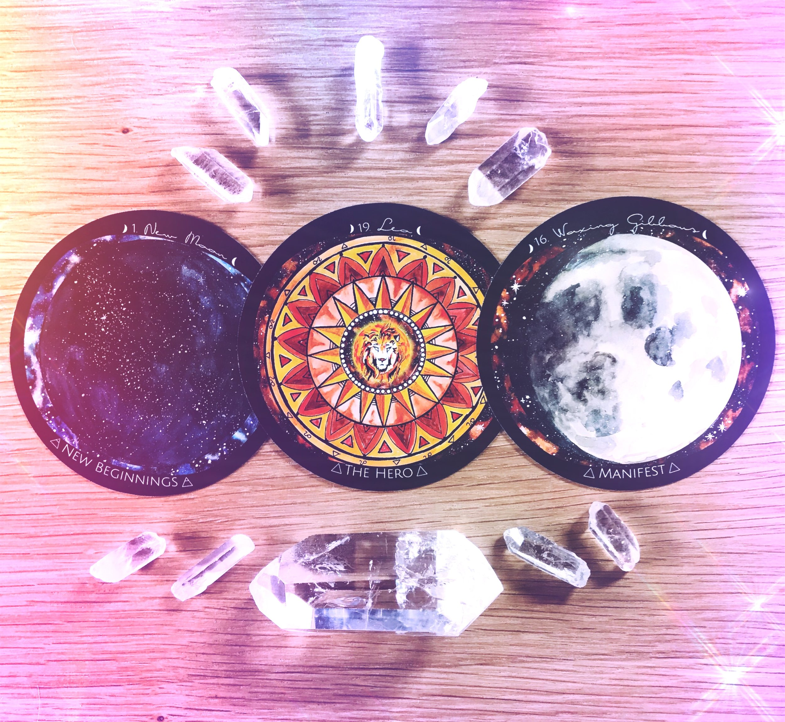 New Black Moon in Leo Moonthly Energy Reading | Corn Moon