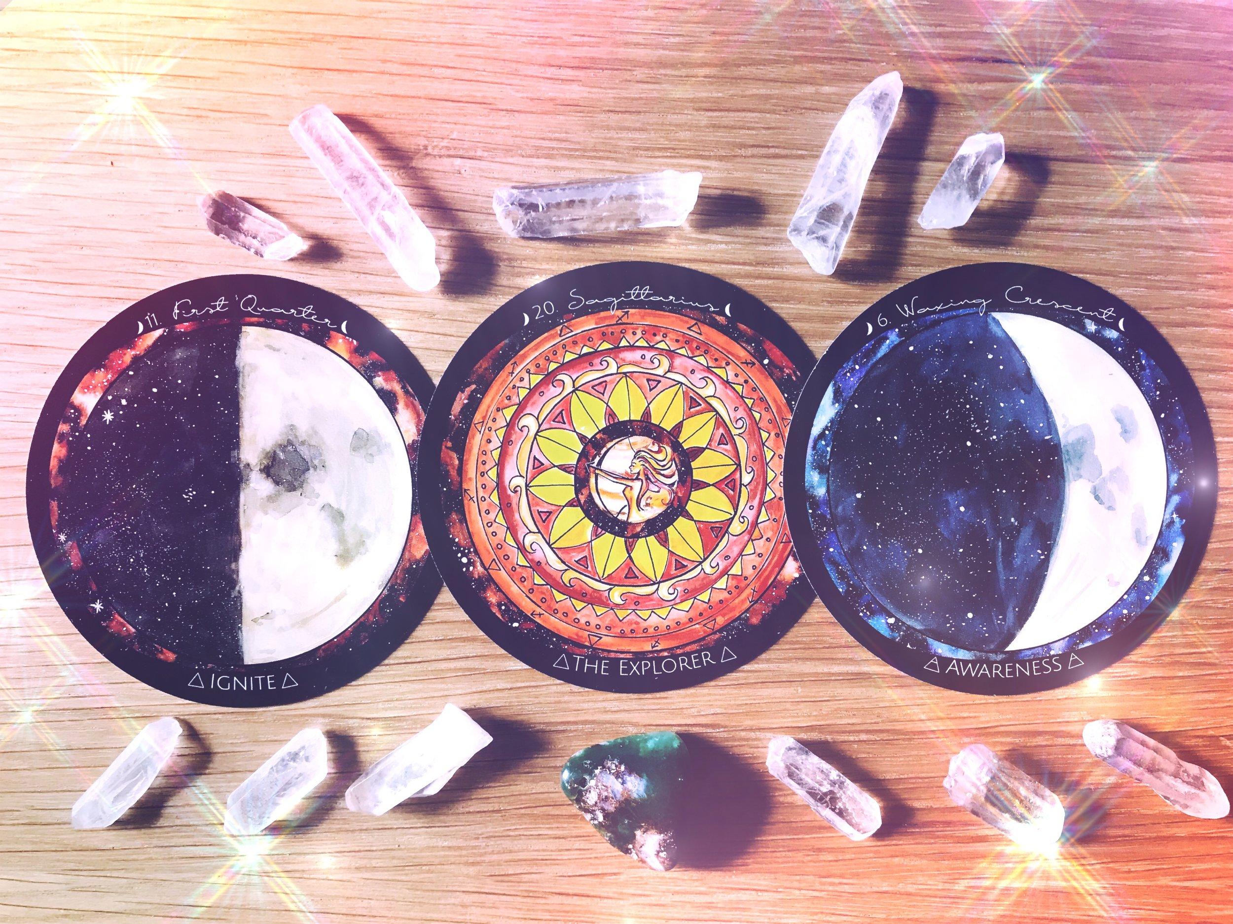 Spirit de la Lune New Moon in Virgo | Energy Reading Harvest Moon