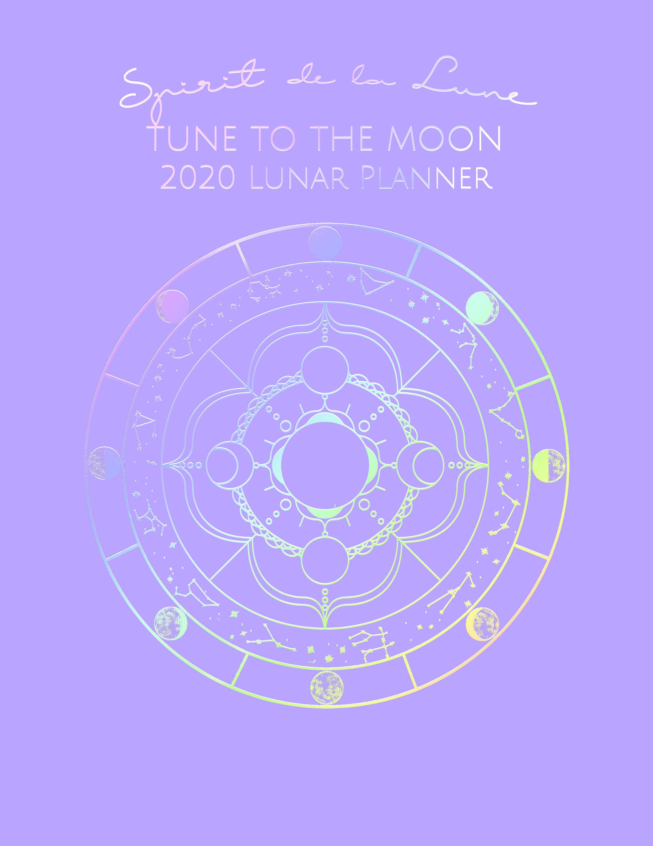 Spirit de la Lune Planner Cover Option 1