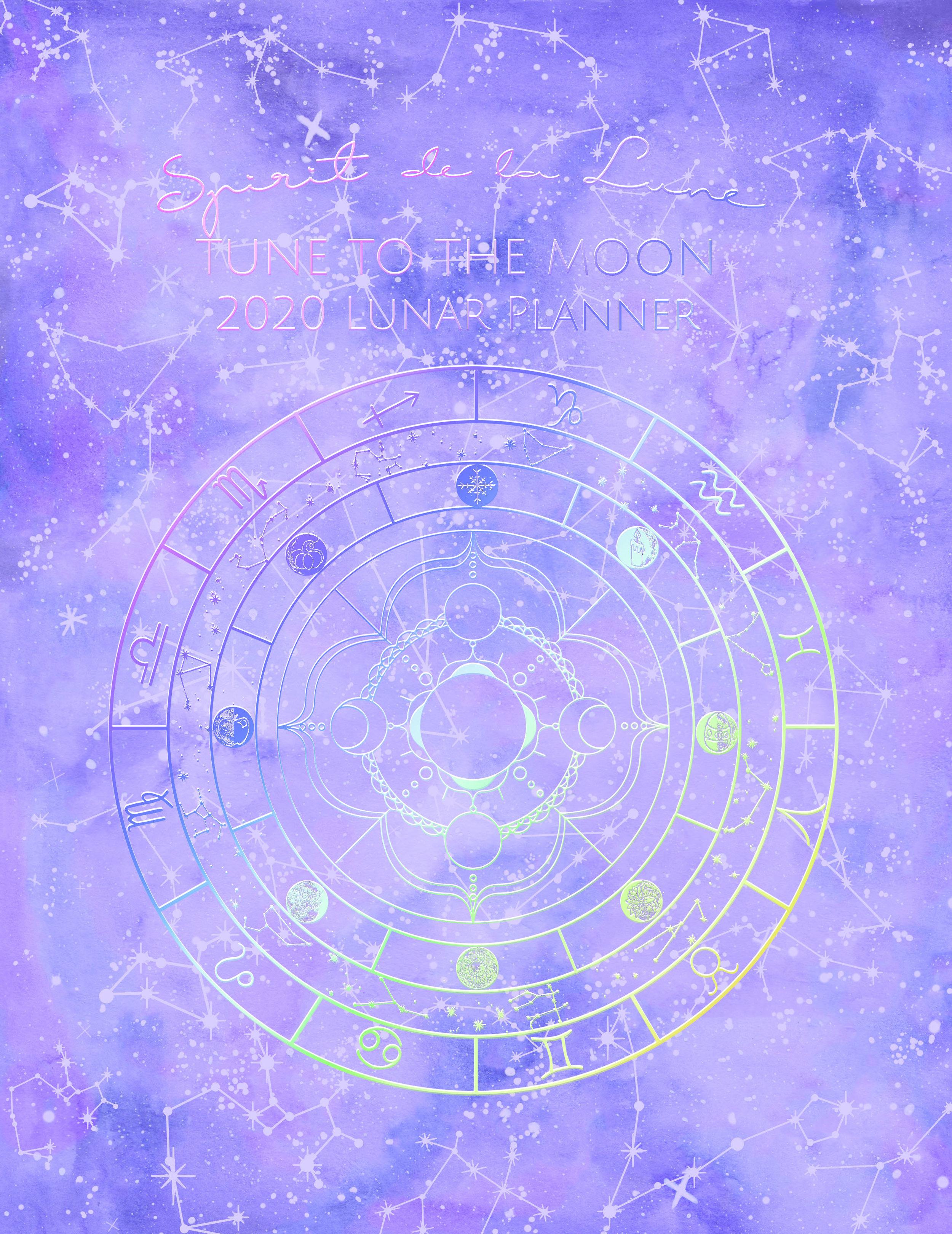 Spirit de la Lune Planner Cover Option 4