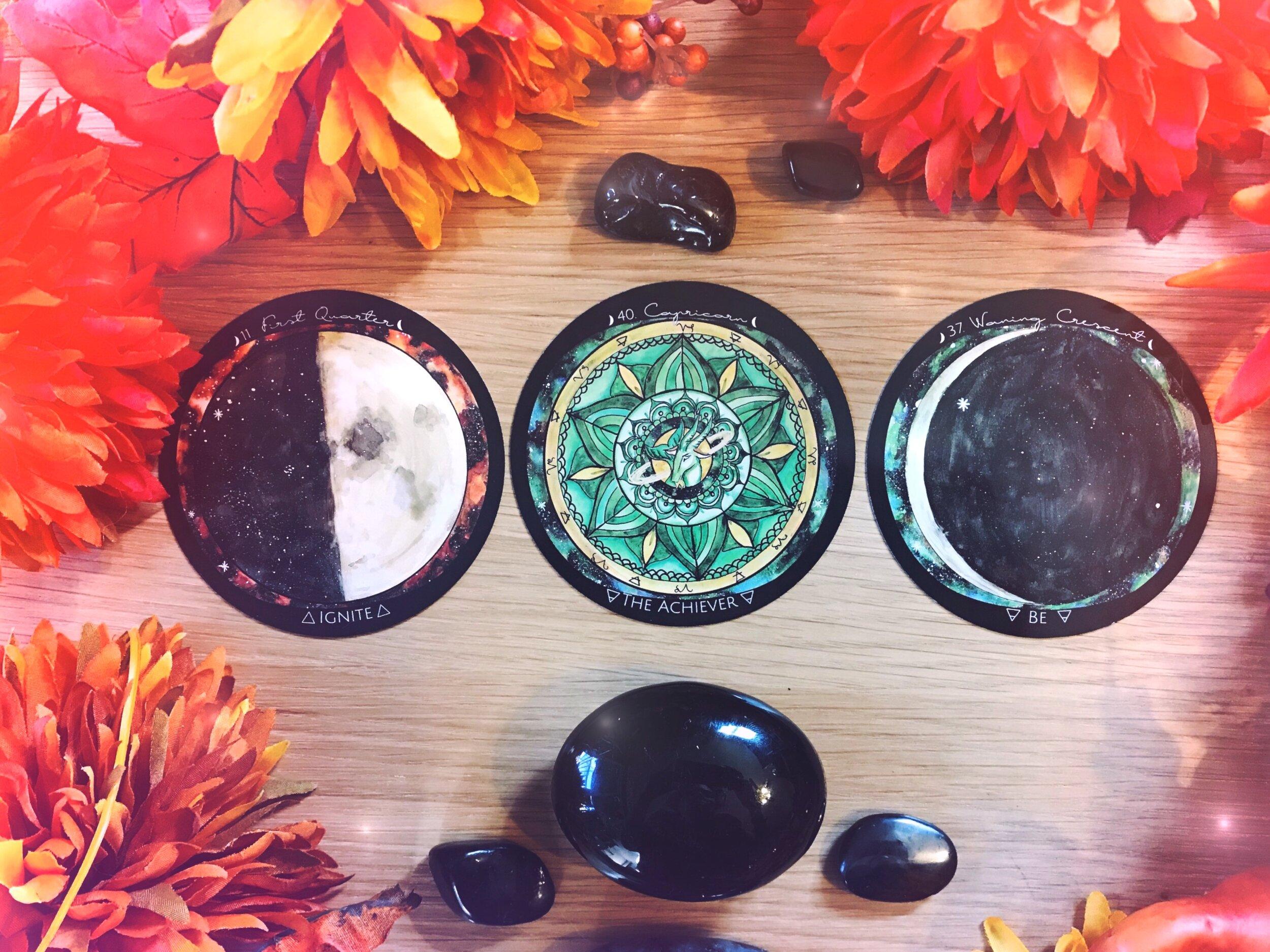 Spirit de la Lune New Moon Energy Reading October 2019