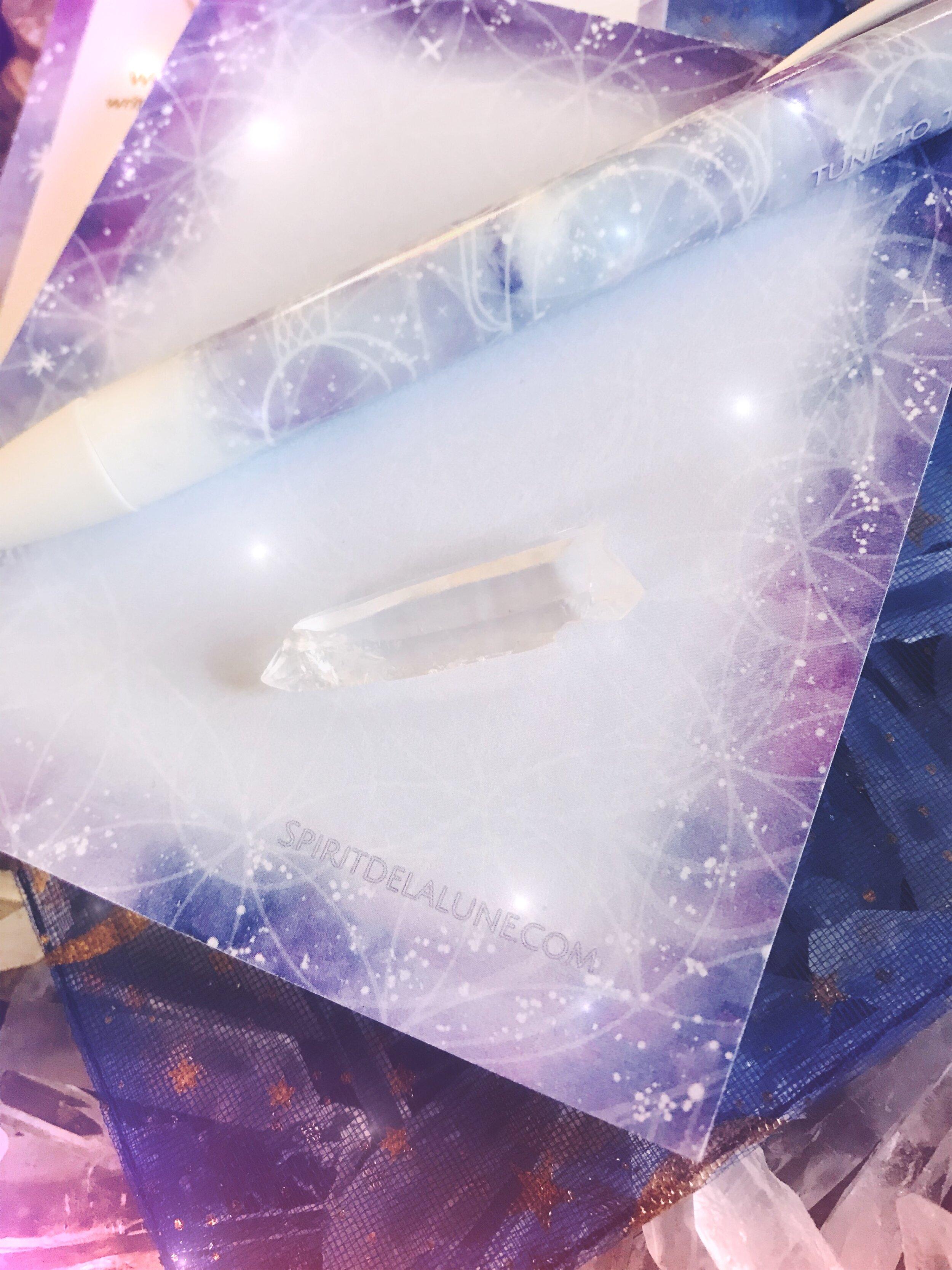 Reiki Infused Sacred Geometry Intention Kit Spirit de la Lune
