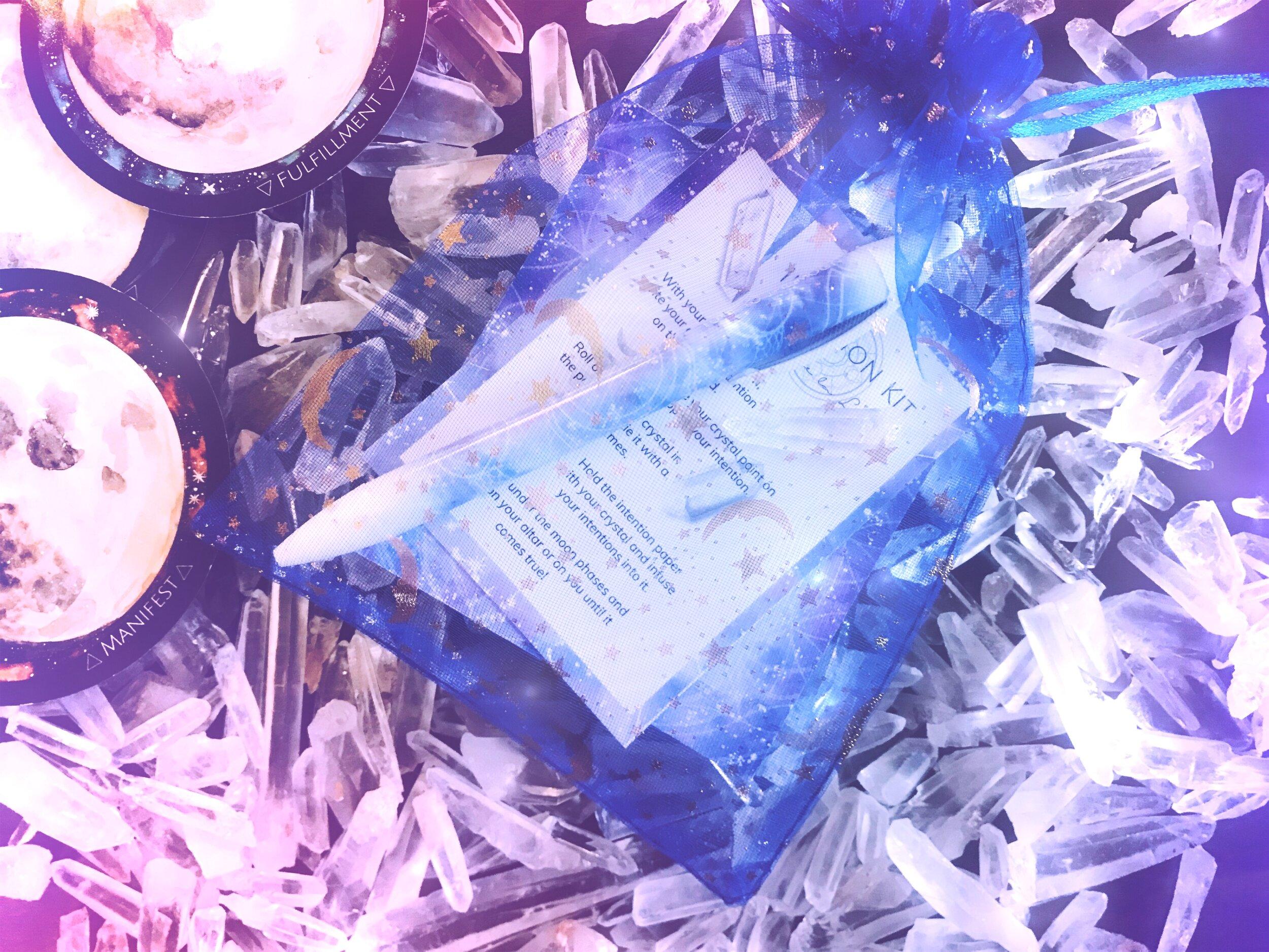 Reiki Infused Intention Kit Spirit de la Lune