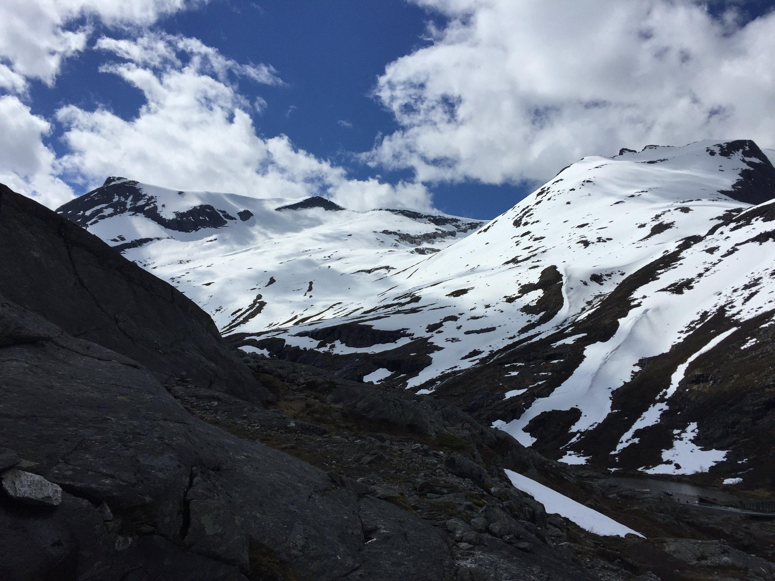 """Trollstigen (""""The Troll's Path""""), Norway."""