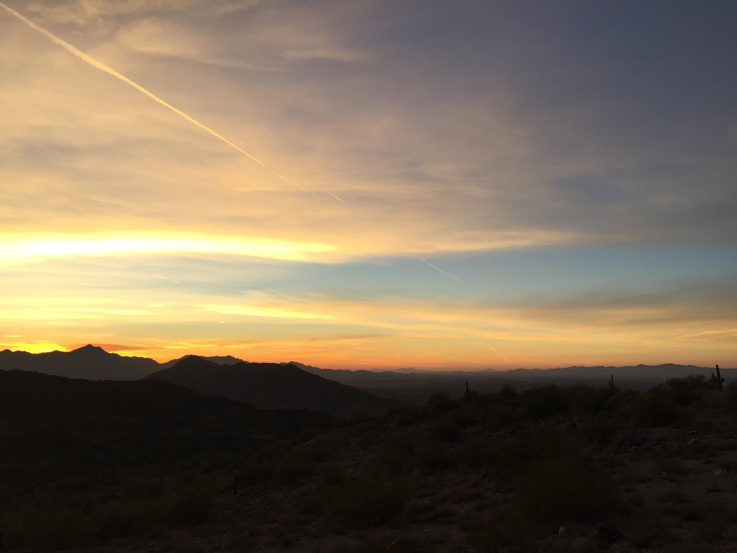 South Mountain Sunset: The Build