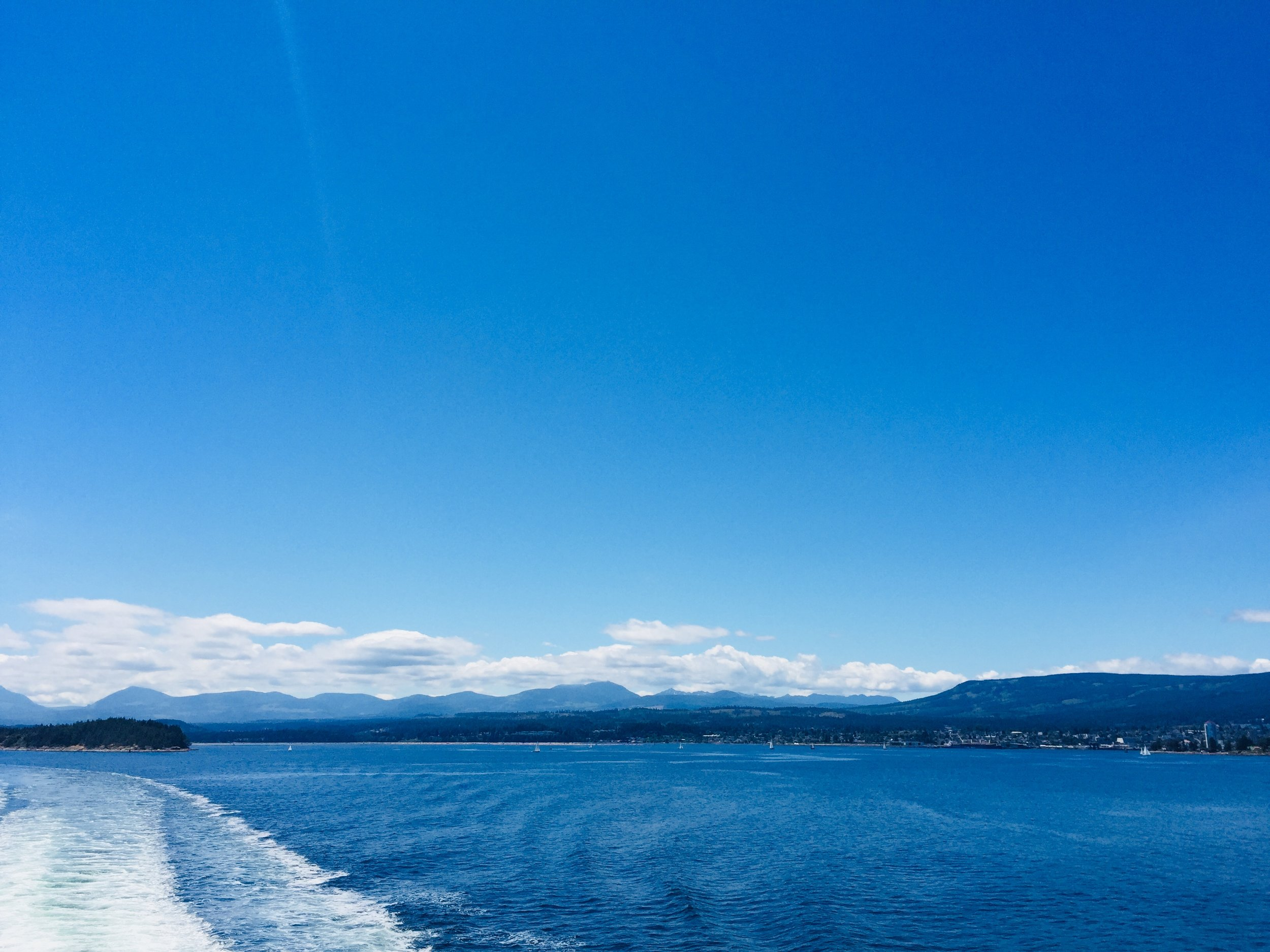 Views from the ferry crossing.