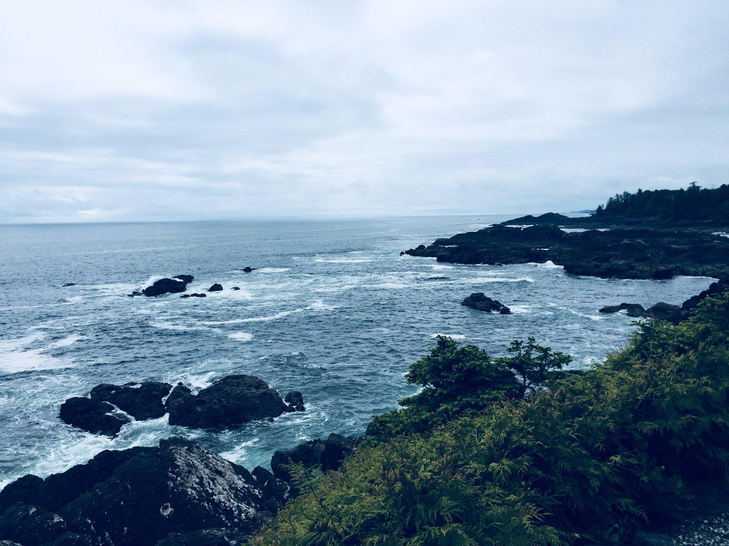 Wild Pacific Trail views.