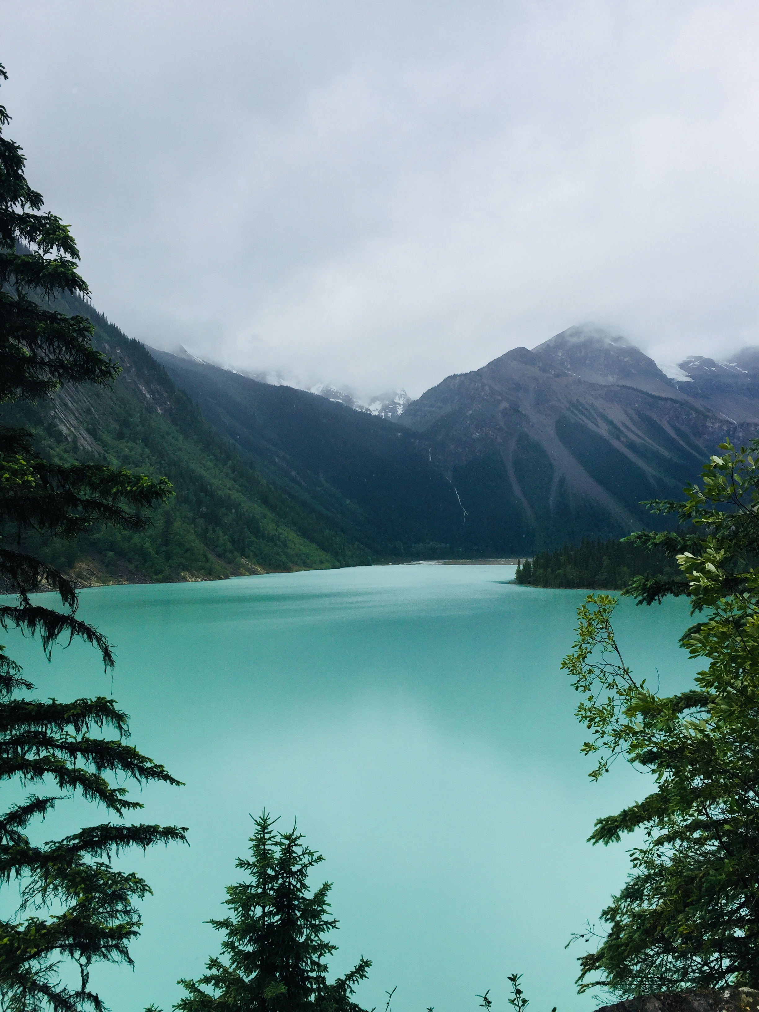Kinney Lake in Mt. Robson Provincial Park