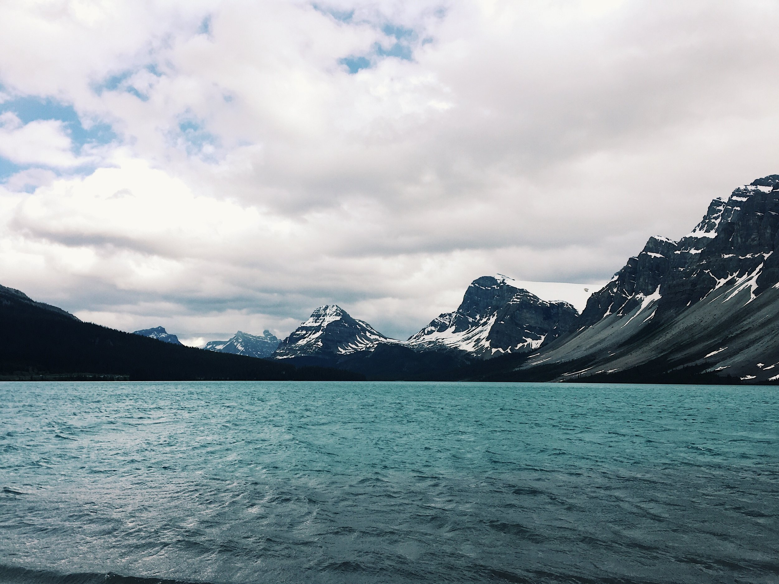 Icefields Parkway // Bow Lake