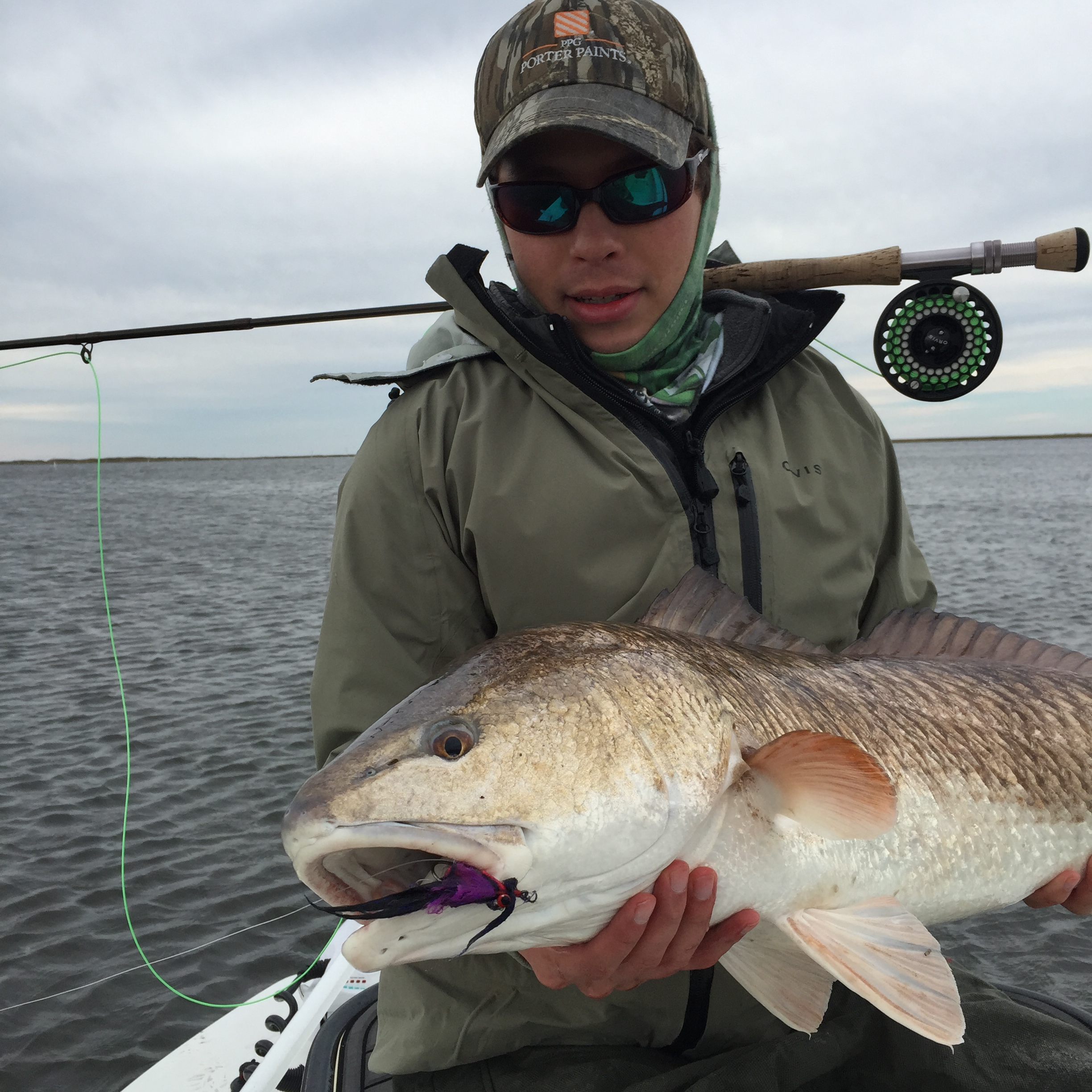 The Sandbar Mullet is dynamite for Louisiana Reds!
