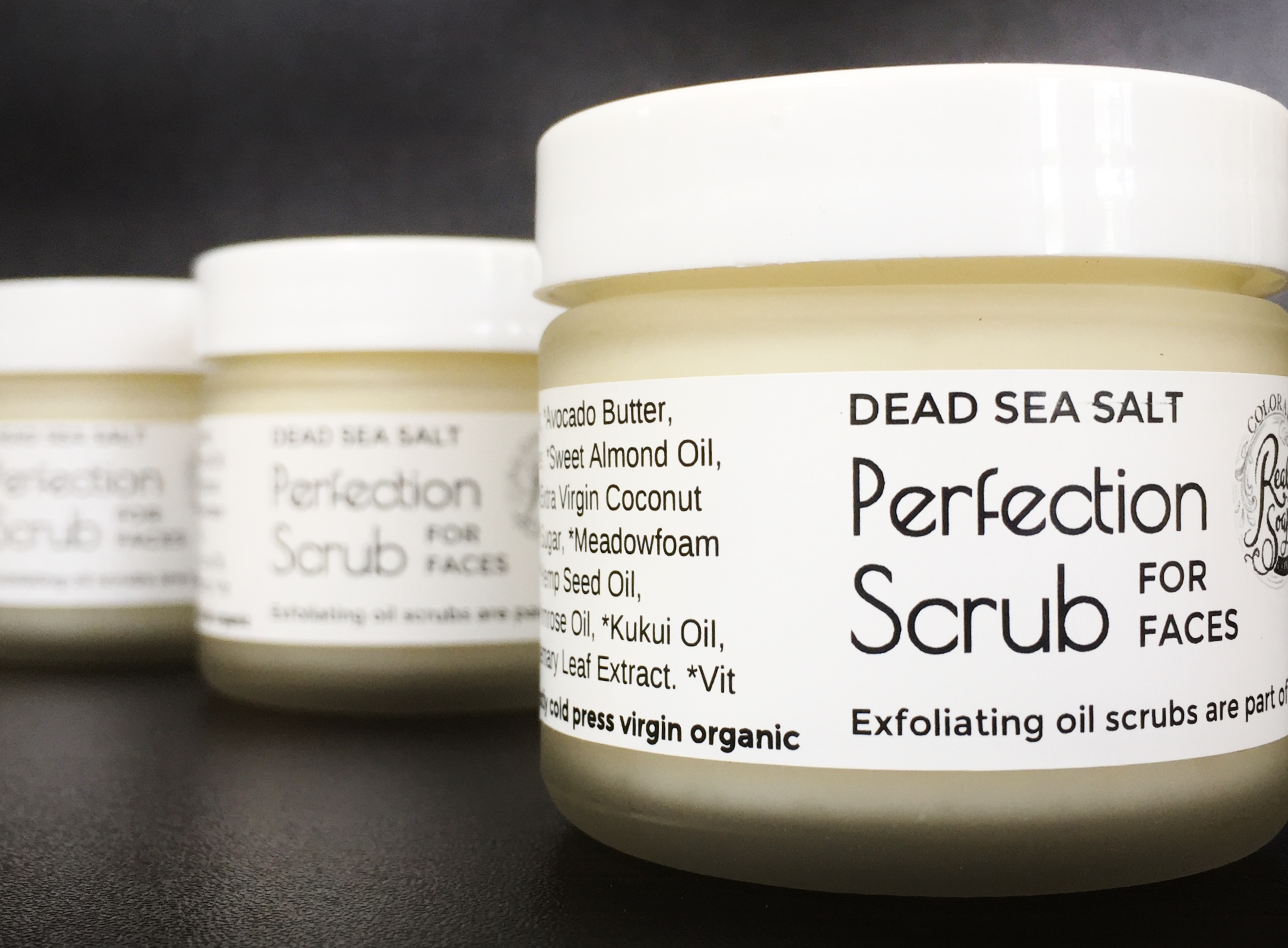 - OIL CLEANSING BUTTER SCRUB FOR FACES