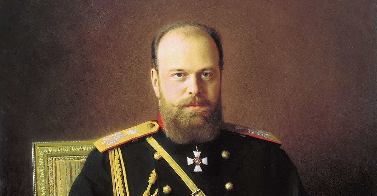"""Emperor Alexander III Alexandrovich """"The Peacemaker"""" 1881-1894"""