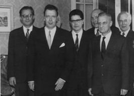 HIH Grand Duke Vladimir Kirillovich with Count Wouytch.