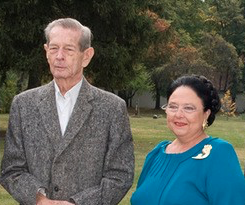 King Michael of Romania and Grand Duchess Maria of Russia.