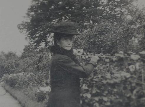 The Dowager Empress at Hvidore, 1924.