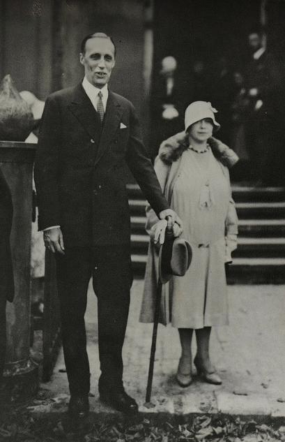 HIH Grand Duke Gavriil Constantinovich of Russia, and his wife, Princess Strelninskaya.