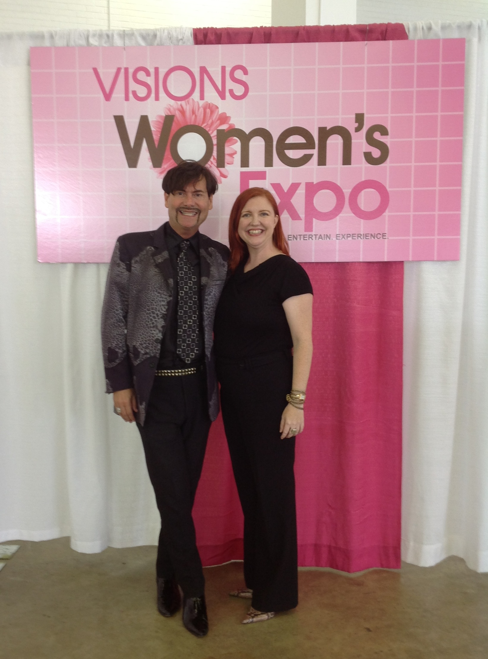 Your dynamic delivery kept everyone alert and involved. All that wonderful energy you have is certainly put to good use - you were our HIGHEST RATED SPEAKER! - Steve Kemble, America's Sassiest Lifestyle Guru and Emcee, Visions Women's Expo