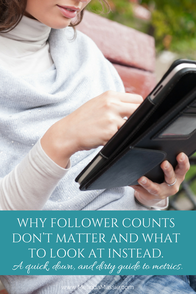 Why Follower Counts Don't Matter and What to Look at Instead. A quick, down, and dirty lesson to metrics.
