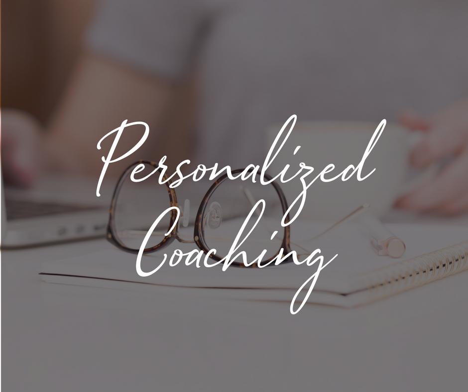 Personalized coaching with Melinda Massie