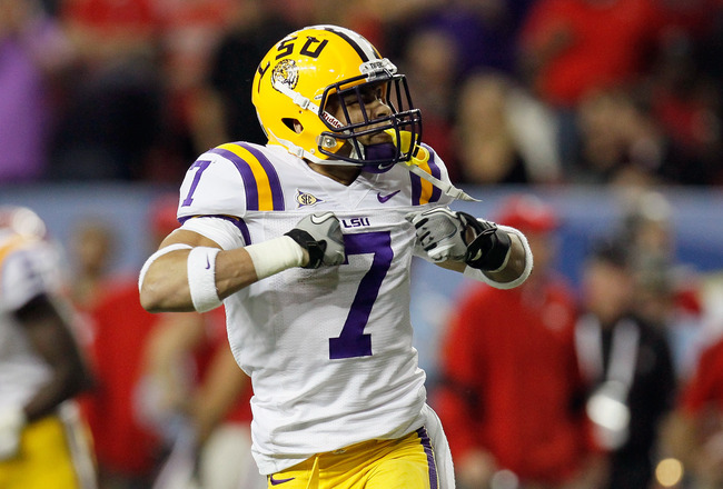 Tyrann Mathieu Honey Badger photo by Kevin C. Cox, Getty Images