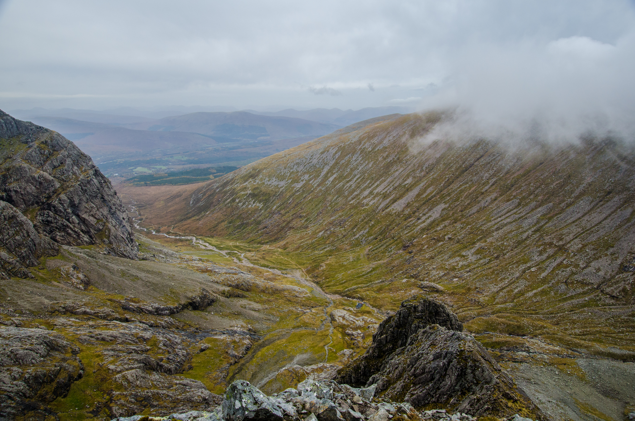 Great view down the glen
