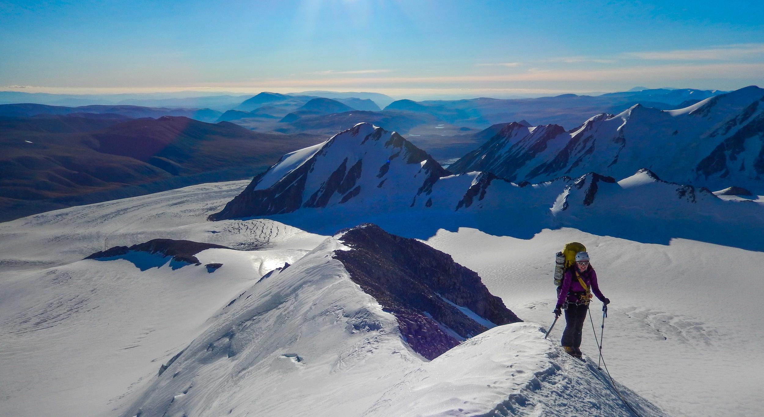 Ascending Mount Khuiten