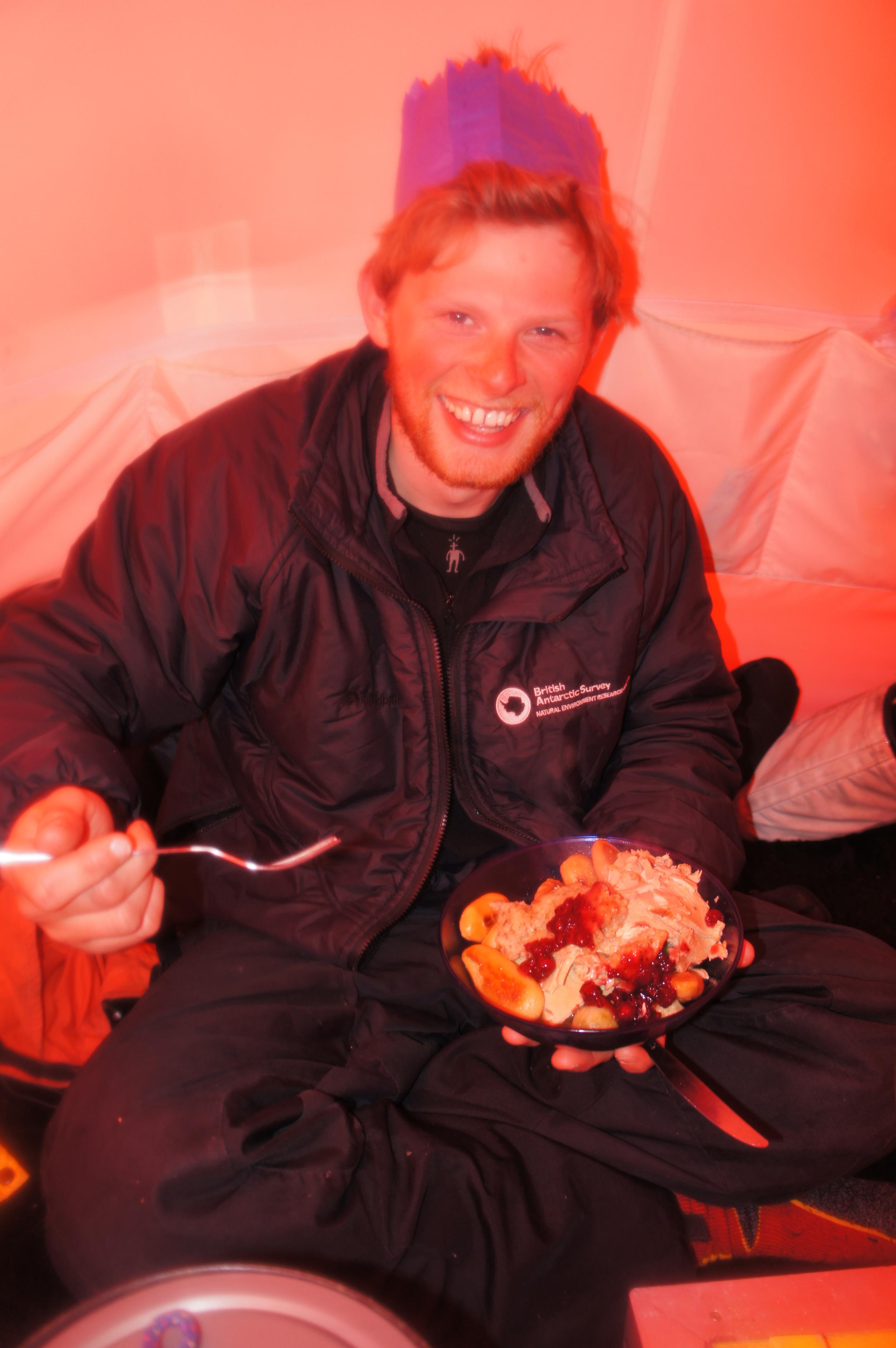 Celebrating Christmas on the Ronne Ice Shelf