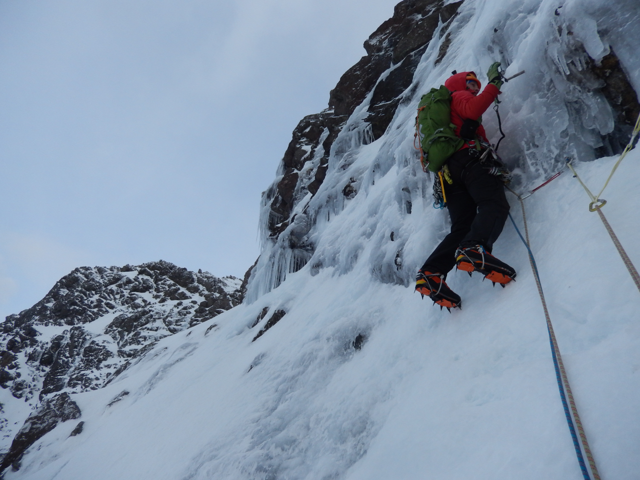 Joris on the initial steepening on the bold pitch 2
