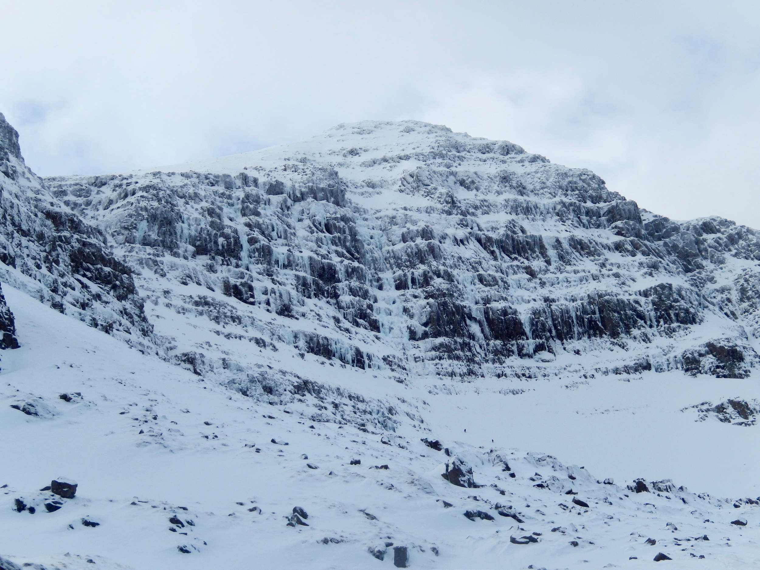 Coire Dubh Mor (poachers is the fattest looking ice in the middle)