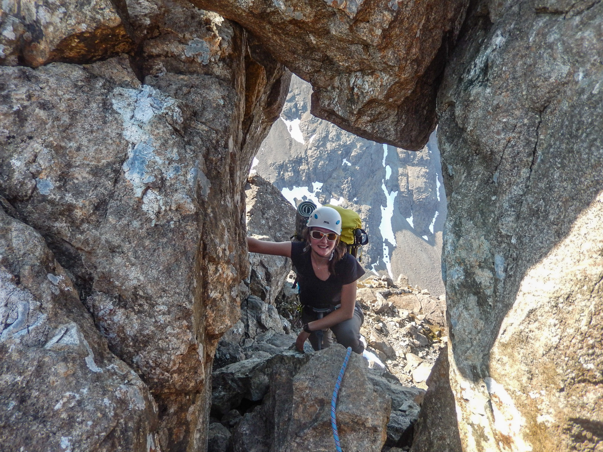 Passing through the eye of the needle just before the final summit!