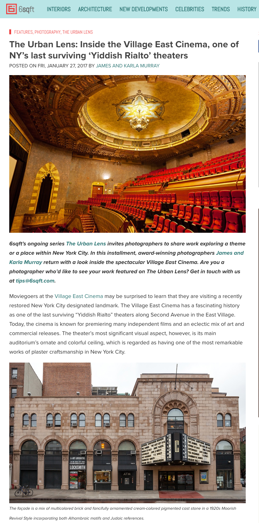 The Urban Lens  Inside the Village East Cinema  one of NY s last surviving  Yiddish Rialto  theaters   6sqft.jpg