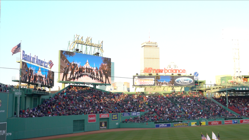 Boston.com Article | Video @ Fenway Park