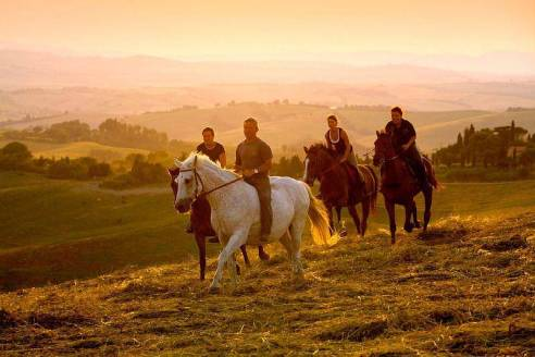 Wine, Dine, & Ride - Join us for 8 days of dreamy riding, delightful company, and delicious meals in the Tuscan countryside! With day trips to Florence and Sienna and evenings full of stories shared around the dinner table, this trip is relaxing, rejuvenating, so fun, and so delicious!8 days/7 nightsApril-May, September-OctoberPrices starting at $2,350 per person sharing