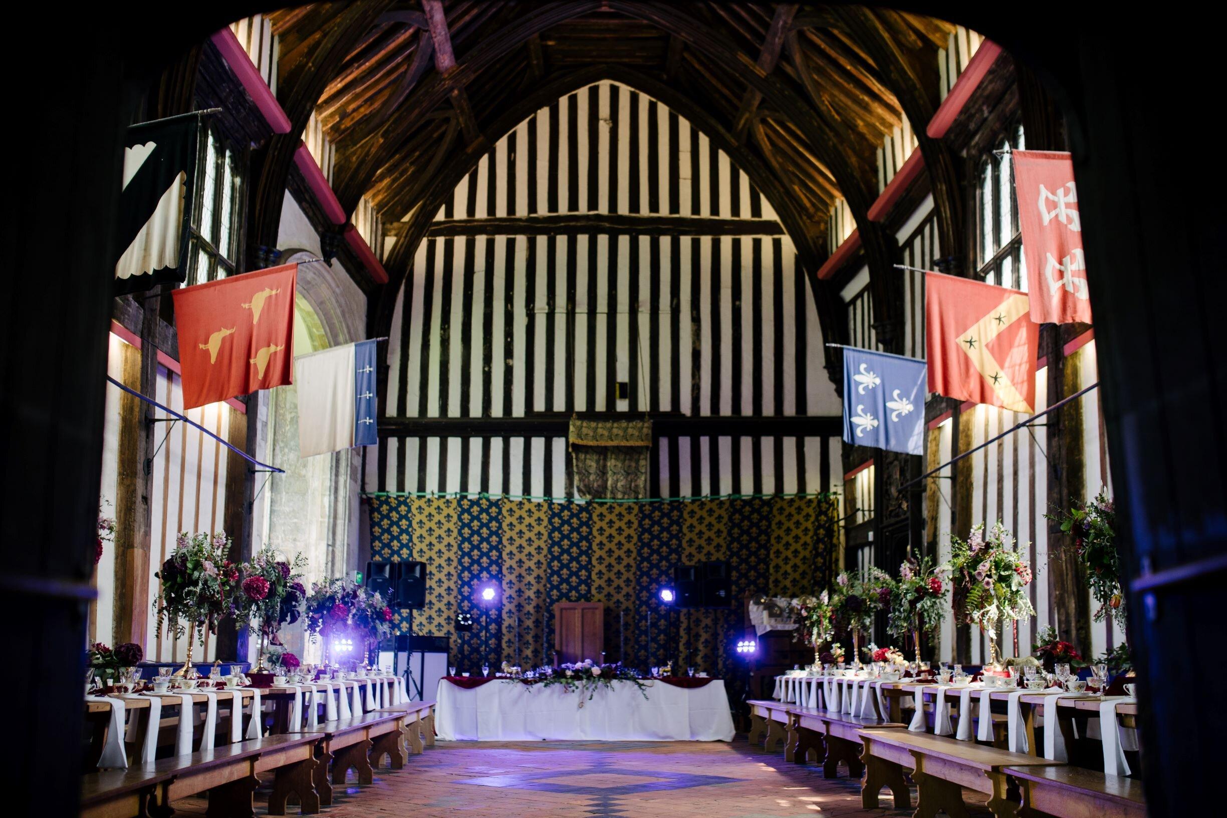 Gainsborough Old Hall Wedding