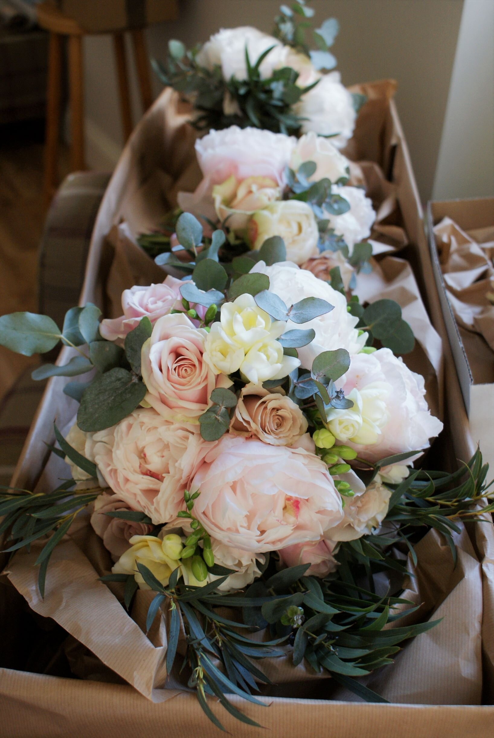 Peonies and Roses bouquet