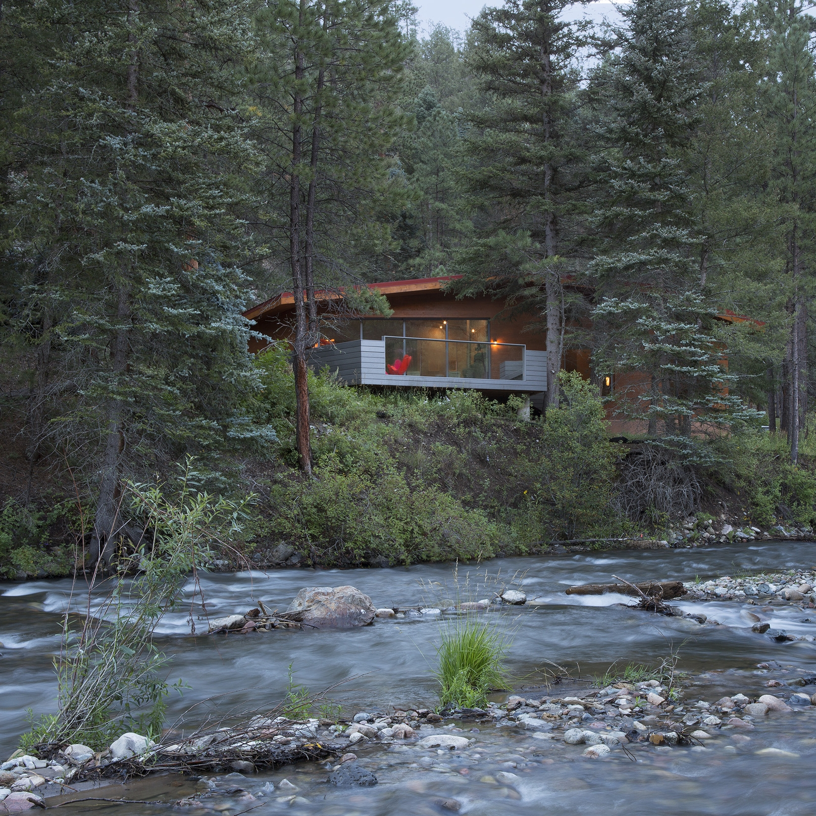 Pecos Cabin, New Mexico