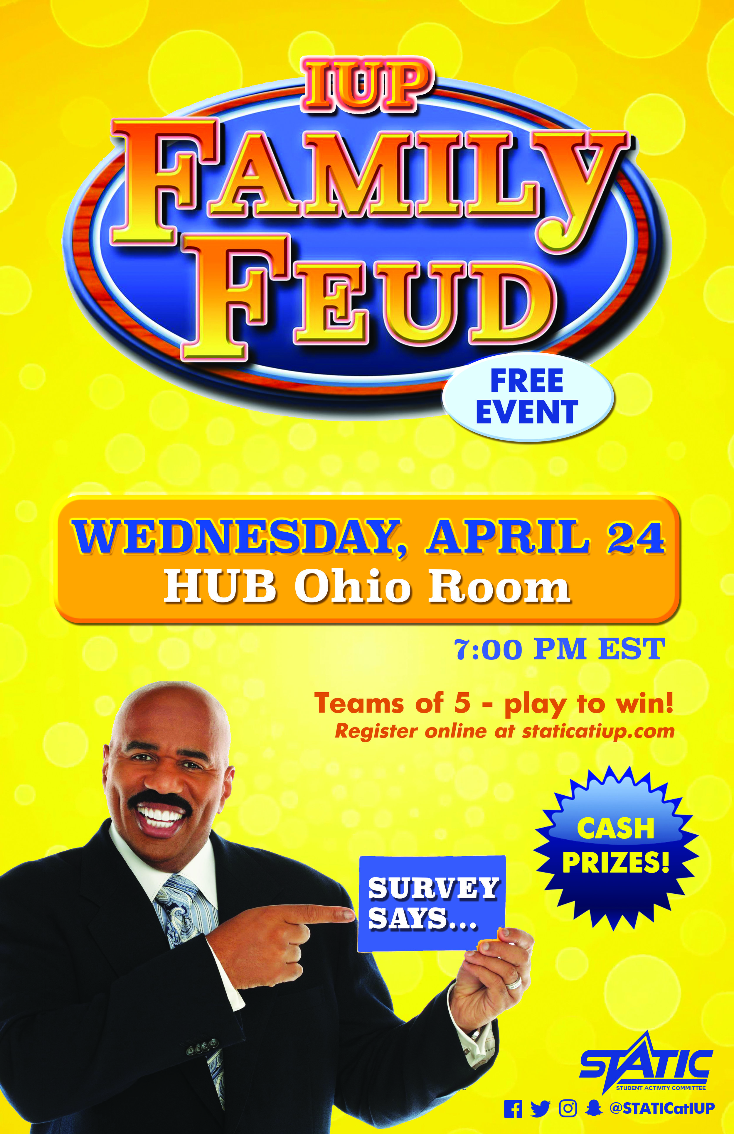 Family Feud — STATIC at IUP