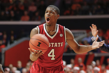 Pictured: Smith Jr. yelling at Mark Gottfried's play selection