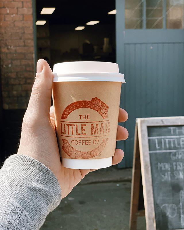 Had a stellar coffee at The Little Man Garage. Cool little spot!