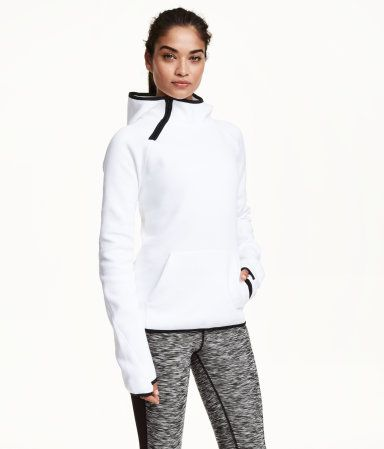 H&M Hooded Sports top