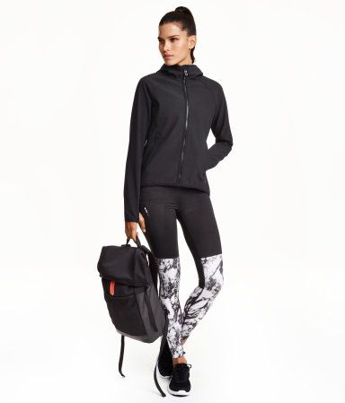 H&M Hooded Softshell jacket