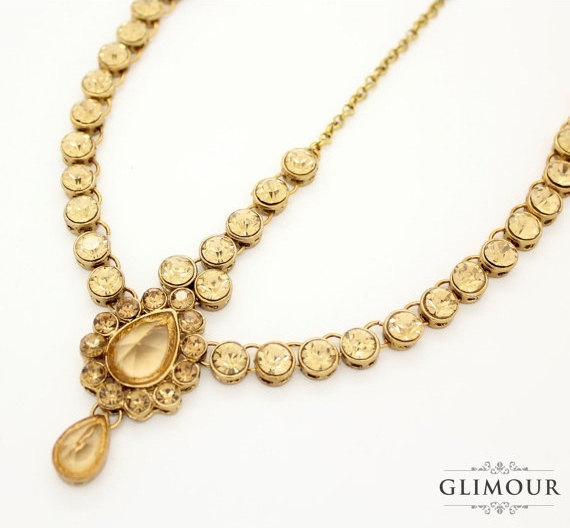 Glimour Antique Gold Grecian style Head Jewelry , $27