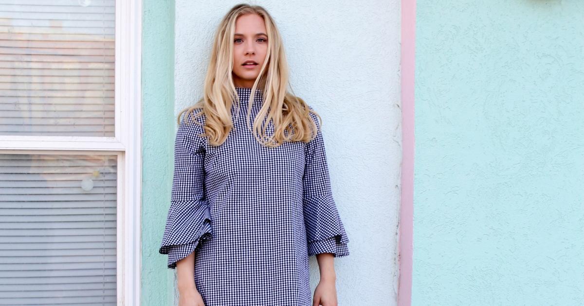 Carrielle Rose Fashion & Beauty Blog | Gingham Dress