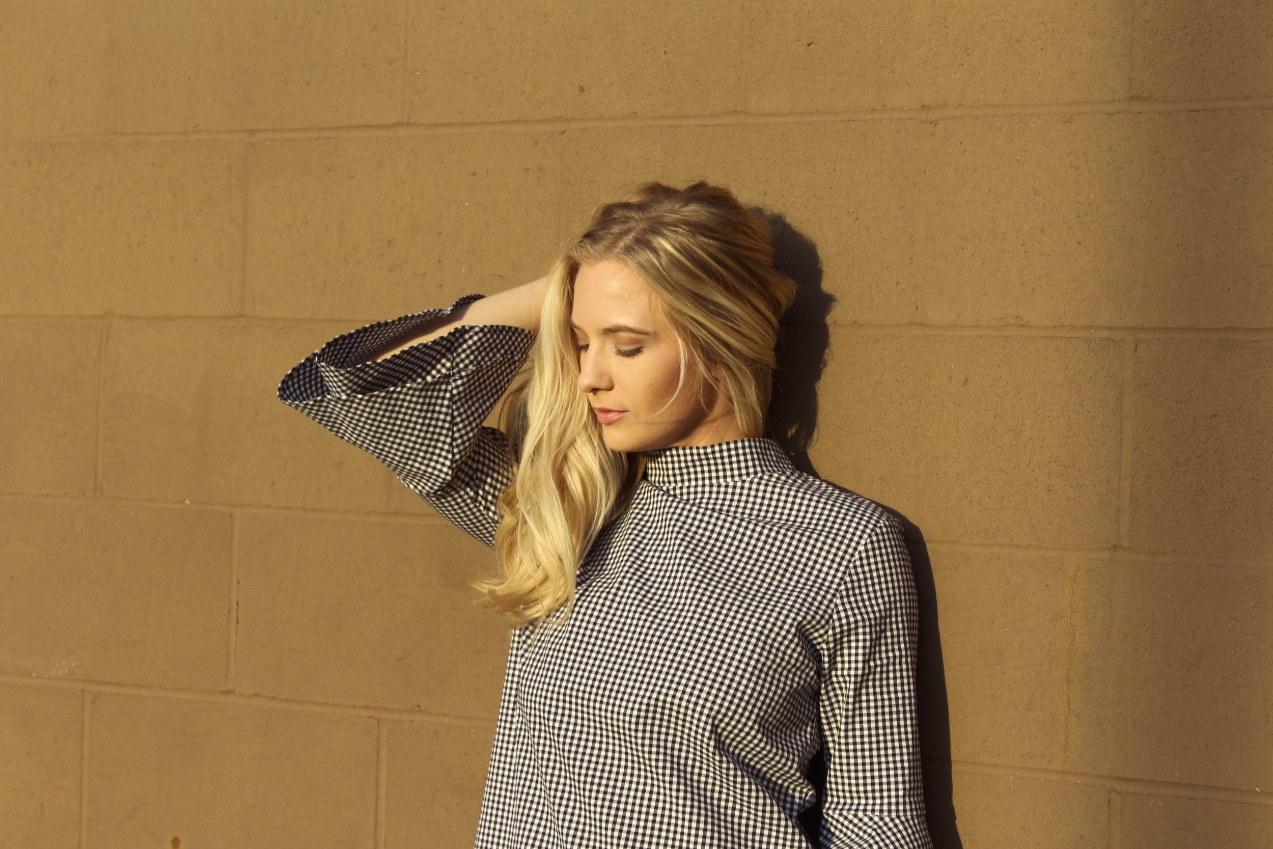 Carrielle Rose Fashion & Beauty Blog | hello ruby gingham dress