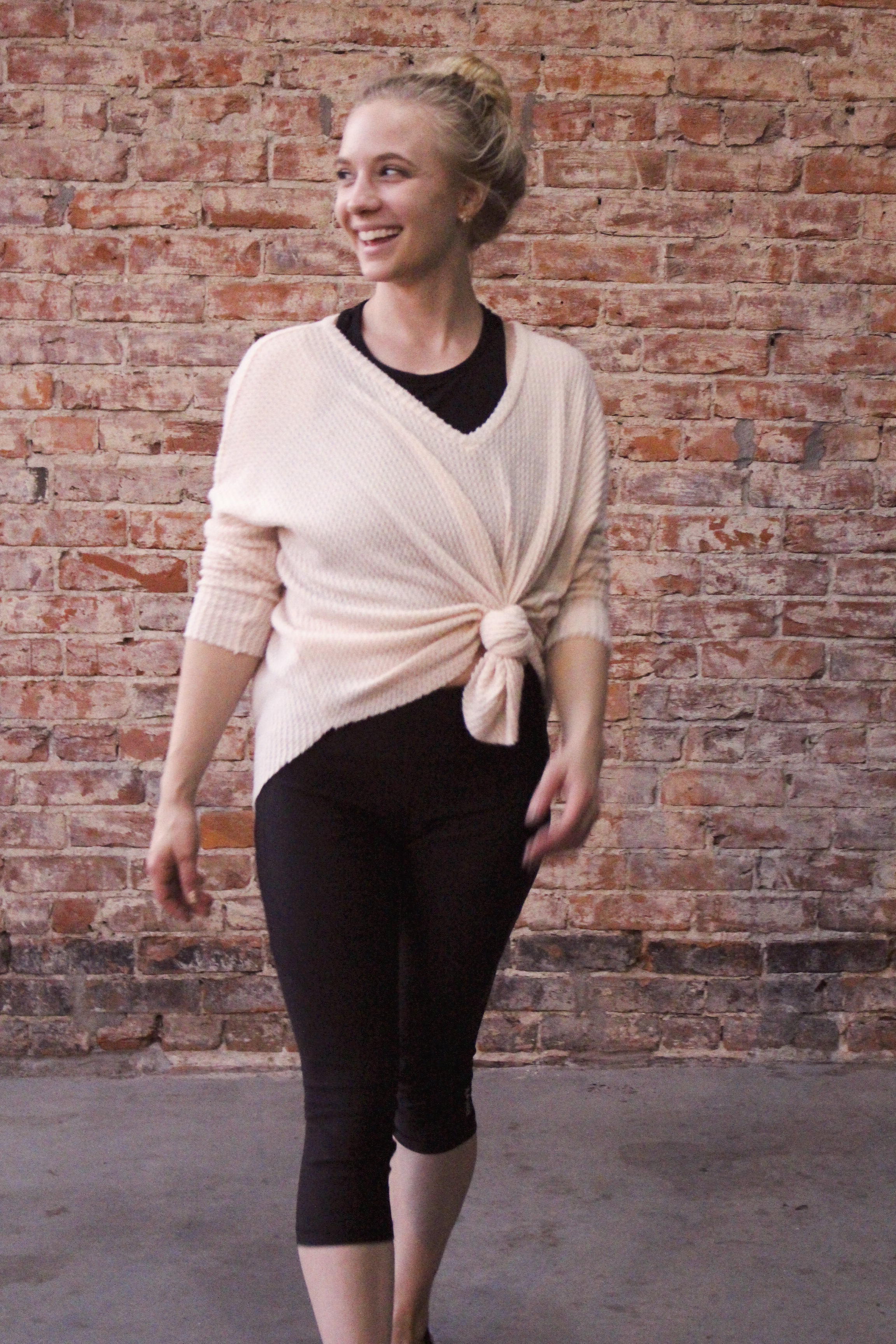 Sadie & Sage sweater {currently out of stock} <br> I'm wearing a small