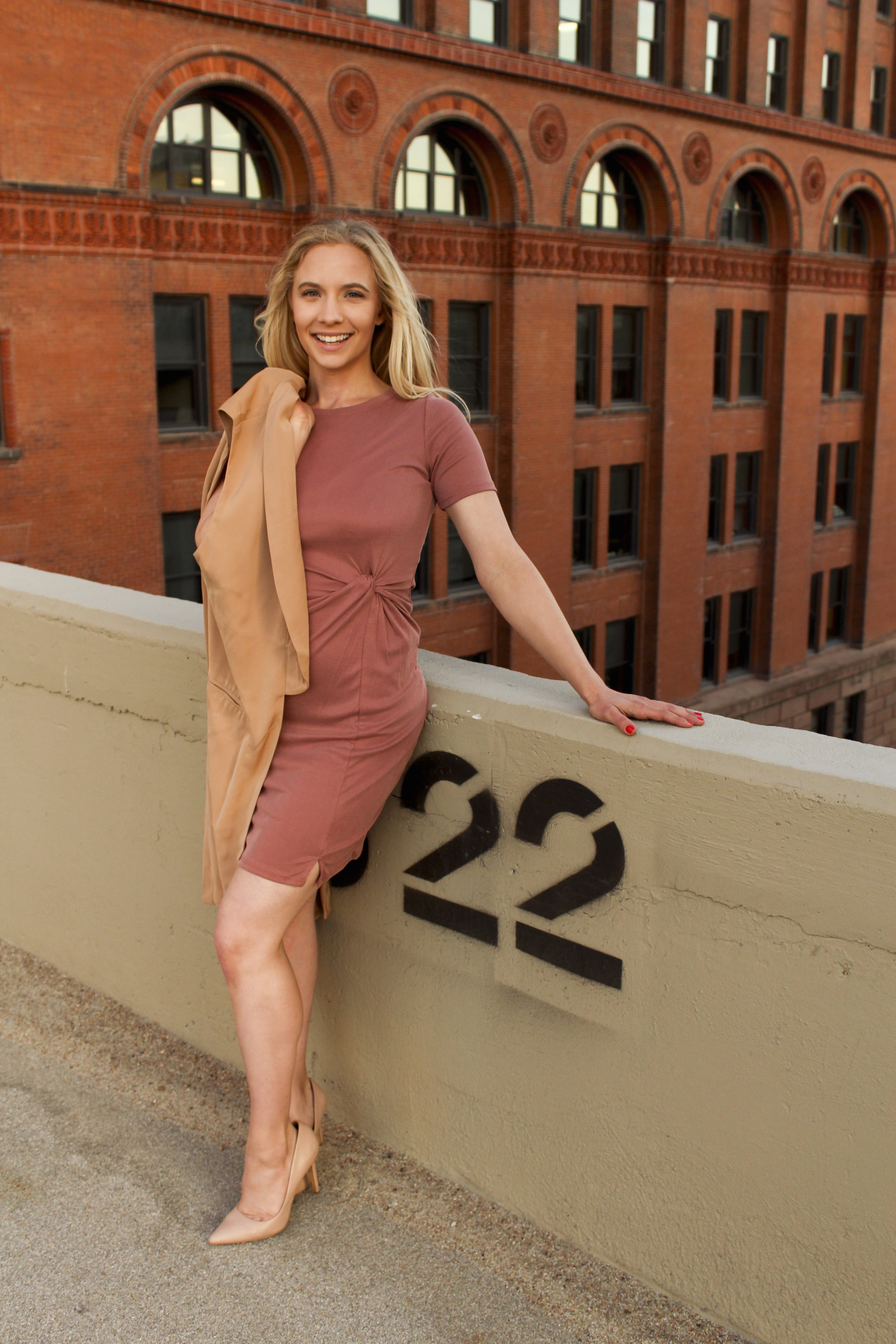 knot yours dress {$48} <br> I'm wearing a small