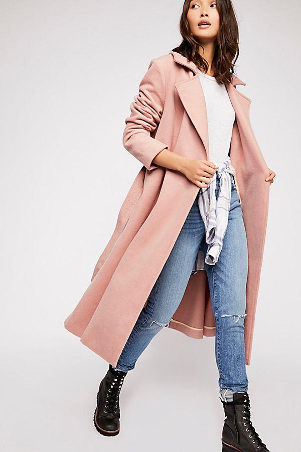 Free People Sierra Wool Coat