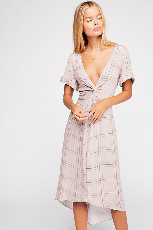 Free People Bon Bon Printed Dress