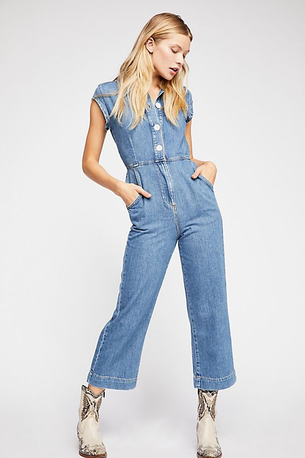 Free People Unchained Melody Jumpsuit