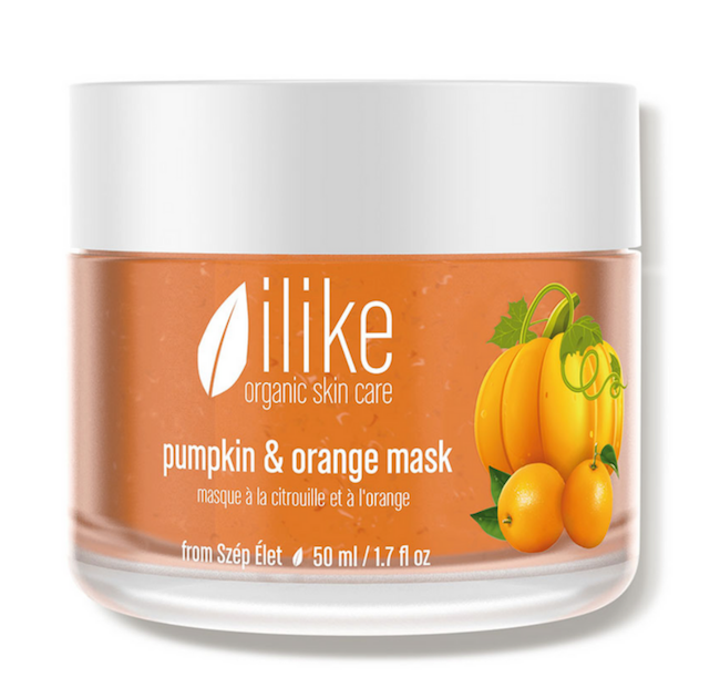Ilike Organic Skin Care Pumpkin and Orange Mask.png